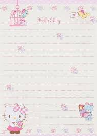 Design Paper For Writing New Pin By Sofear'r On Printable Paper Writing Paper Memo Paper
