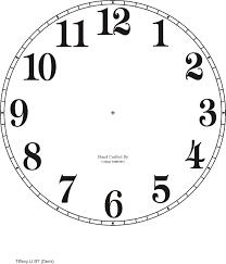 Watch Dial Design Template Downloadable Clock Faces Clock Face Printable Clock