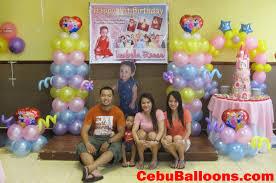 Princess Balloon Decoration Hannahs Party Place Balloon Decoration Party Needs Cebu