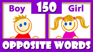 150 Opposite Words In English Opposites For Kids Antonyms Synonyms List Kids Vocabulary