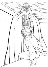 Darth Vader Kleurplaat Jouwkleurplaten