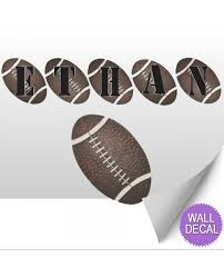 wall letters nursery lettering stickers vinyl decals to spell name football