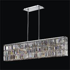 rectangular dining chandelier reflections 600lm6lsp 3c