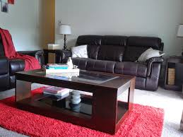 decor brown leather sofa living