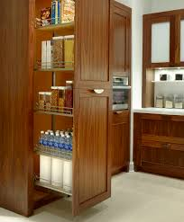 Roll Out Pantry Cabinet Full Height Pull Out Pantry Cabinet Home Design Ideas
