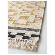 ikea area rugs alvine ruta rug flatwoven throw x light grey modern animal print big yellow