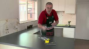 Bunnings Kitchen Cabinet Doors How To Install Handles On Kitchen Cabinets Diy At Bunnings Youtube