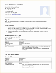 Simple Resume Format For Freshers Beautiful Resume Format For Call