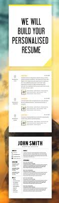 709 Best Modern Resume Templates Images On Pinterest