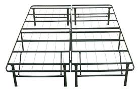 Strong King Size Bed Frame Time Living City Block Black Metal Bed ...