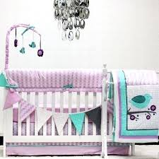 bird crib bedding details about purple pink birds crib bedding set baby girl nursery quilt mobile