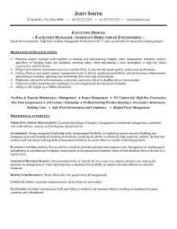 click here to this materials manager resume template click here to this facilities manager resume template