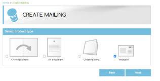Create Postcard In Word Docmail Creating Postcards
