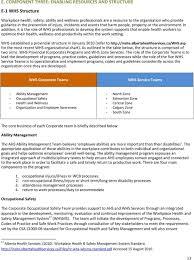 Whs Organization Chart Alberta Health Services Strategic Plan For Workplace Health