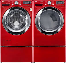 colored washer and dryer. Plain Washer LG Front Load Electric Steam DryerWild Cherry RedDLEX3370R  Appliance  Smart Throughout Colored Washer And Dryer I