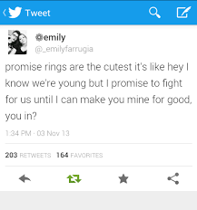 Ring Quotes Best Promise Rings Promise Ring Quotes Tumblr