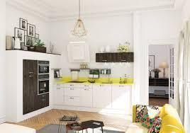 Awesome D Coration Salon Noir Et Gris Decoration Cuisine Ouverte Sur La  Nature Akrongvf Decoration Cuisine With Deco Cuisine Noir Et Blanc