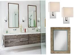 bathroom sconces. glamorous mirrors and sconces for your bathrooms bathroom a