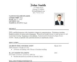 Resume Professional Job Application Resume Format Pdf Sample Cv