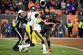 Blazzes Hair Design Thirroul Browns Myles Garrett Faces Suspension For Hitting Steelers
