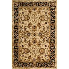 nourison jaipur light yellow indoor handcrafted area rug common 3 x 5 actual