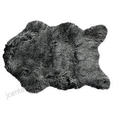 mics artificial sheepskin area rug pad soft chair cover throw thick faux fur rug photo prop
