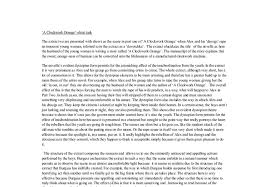 a clockwork orange essay there are many recurring motifs in stanley kubrick s a clockwork orange adapted from the novel
