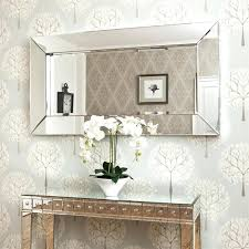 mirrors outstanding large glass bevelled wall mirror large glass throughout glass framed mirror ideas