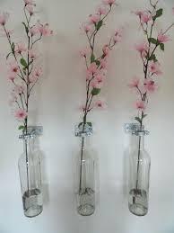 wall mounted vase custom made wall mounted wine bottle vases wall mounted vase glass