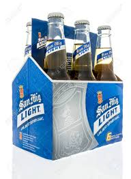 San Mig Light Winneconne Wi 7 October 2018 A Six Pack Of San Mig Light