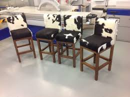 dining chairs bar stools. rustic cowhide bar stools · furniture dining chairs
