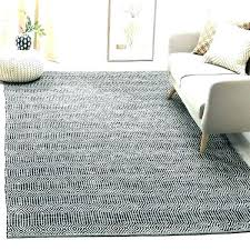grey area rug rugs hand woven cotton ivory dark 5x7