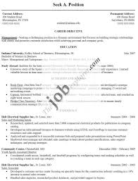 Administrative Assistant Objective Template Design Objectives