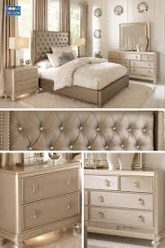 Rose Gold Bedroom Set Extravagant Cream And Furniture Home Interior 8