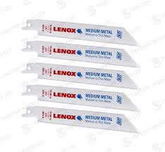 lenox saw blades. lenox 618r reciprocating saw blades 5 pack