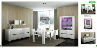 modern furniture dining room. Modern Dining Room Table And Cabinet Set Extraordinary 5 Pieces White Furniture L