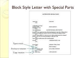 Business Letter Format Enclosure Notation New Proper Letter Format ...