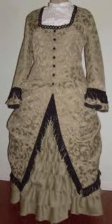 pioneer woman clothing 1800. ladies 1880s polonaise \u0026 walking skirt: day, tea or evening dress pioneer woman clothing 1800