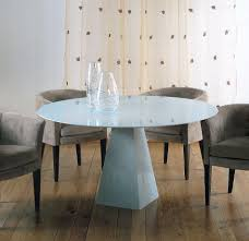 astonishing round stone dining table photos