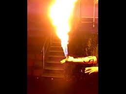 <b>Flame Glove</b> (homemade and dangerous) - YouTube