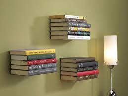 here s how to make your own invisible bookshelves to float around your home