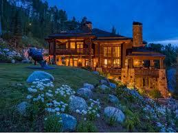 10 9 million luxury log home in beaver creek colorado