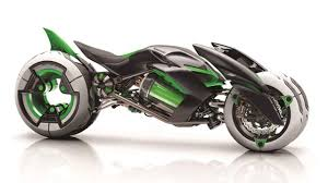 three wheeled kawasaki j concept motorcycle introduced youtube