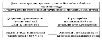 Реферат Схема государственного управления охраной труда  Схема государственного управления охраной труда