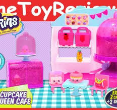Shopkins Cupcake Queen Cafe Season 4 Unboxing Toy Review Video By
