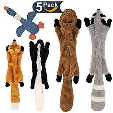 no stuffing dog toys with squeakers dog squeaky toys with stuffing free fox skunk squirrel