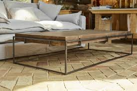 bayard metal coffee table