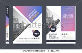 property pamphlet poster flyer pamphlet brochure cover design stock vector hd royalty