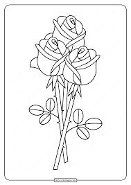 Some of the coloring pages shown here are flower coloring for the x 11, top 25 beautiful rose coloring derrick rose by kiyana smith, flower coloring flower coloring, couple of these roses in white on our shoulders. Free Printable Bunch Of Roses Coloring Pages