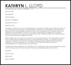 Resignation Template Uk Resignation Letter Example Due To Conflict Letter Samples